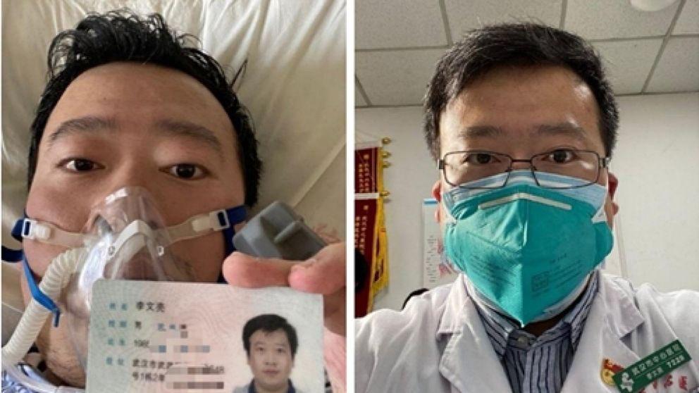Li Weilang bajo cuidado médico poco antes de morir como un héroe
